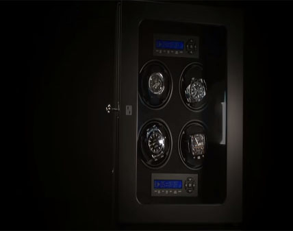 Paul Design Gentlemen 4 Watch Winder